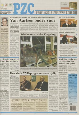 Provinciale Zeeuwse Courant 1997-10-21