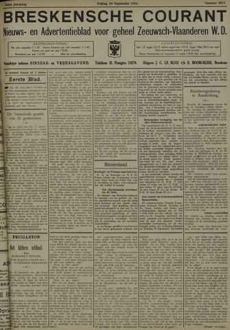 Breskensche Courant 1934-09-28