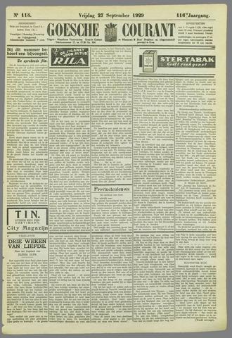 Goessche Courant 1929-09-27