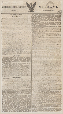 Middelburgsche Courant 1832-09-15
