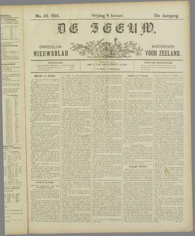 De Zeeuw. Christelijk-historisch nieuwsblad voor Zeeland 1901-01-04