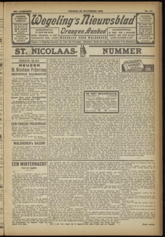 Zeeuwsch Nieuwsblad/Wegeling's Nieuwsblad 1929-11-22