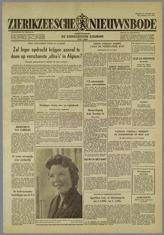 Zierikzeesche Nieuwsbode 1960-01-29