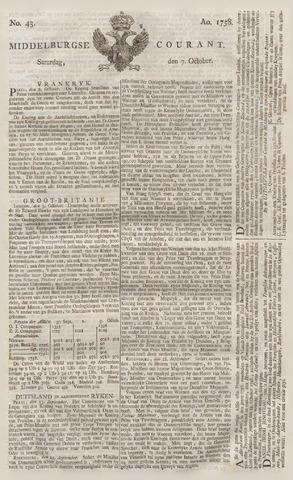 Middelburgsche Courant 1758-10-07