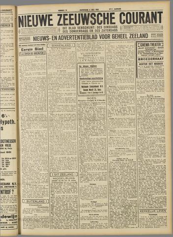 Nieuwe Zeeuwsche Courant 1931-07-04