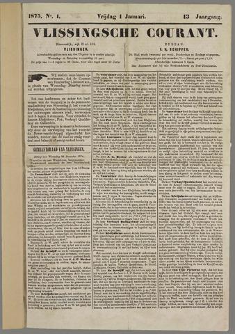 Vlissingse Courant 1875
