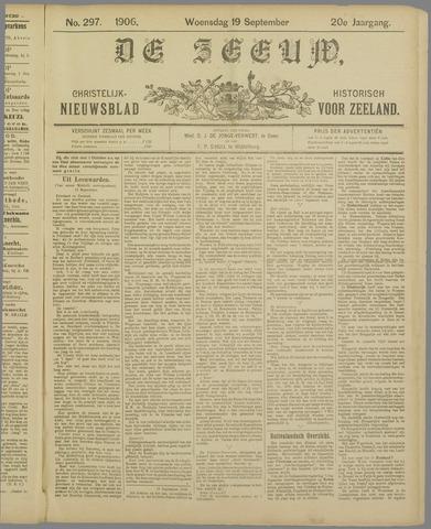 De Zeeuw. Christelijk-historisch nieuwsblad voor Zeeland 1906-09-19
