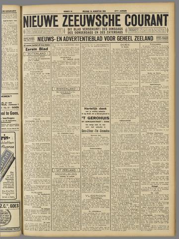 Nieuwe Zeeuwsche Courant 1931-08-14