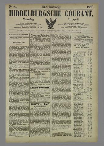 Middelburgsche Courant 1887-04-11