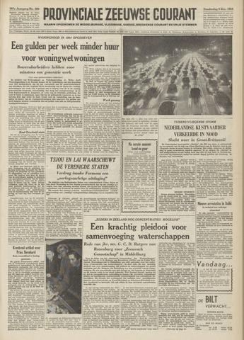 Provinciale Zeeuwse Courant 1954-12-09