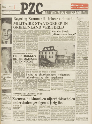 Provinciale Zeeuwse Courant 1975-02-25