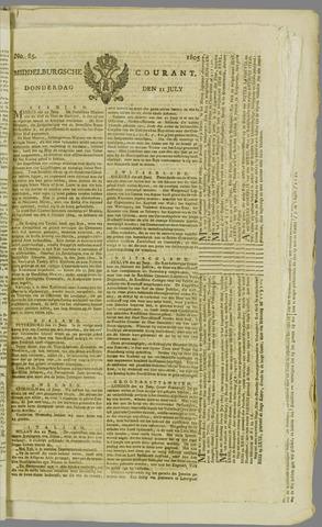 Middelburgsche Courant 1805-07-11