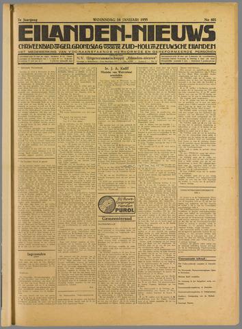 Eilanden-nieuws. Christelijk streekblad op gereformeerde grondslag 1935-01-16