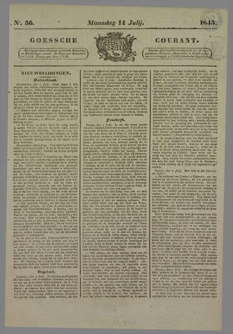 Goessche Courant 1845-07-14