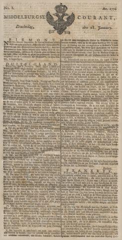 Middelburgsche Courant 1776-01-18