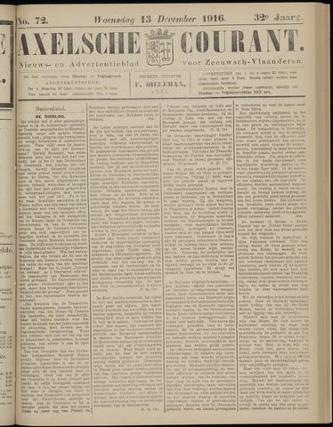 Axelsche Courant 1916-12-13
