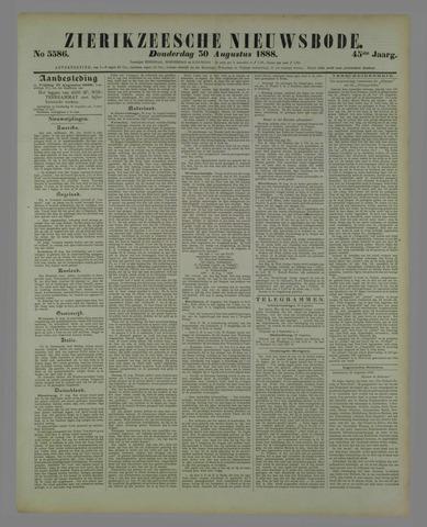 Zierikzeesche Nieuwsbode 1888-08-30