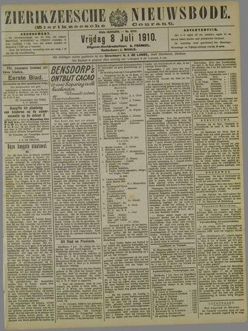 Zierikzeesche Nieuwsbode 1910-07-08