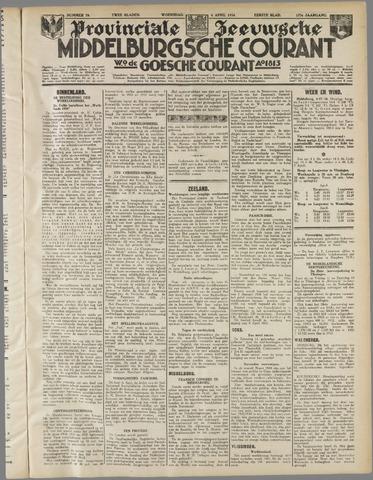 Middelburgsche Courant 1934-04-04