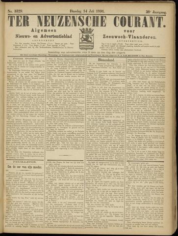 Ter Neuzensche Courant. Algemeen Nieuws- en Advertentieblad voor Zeeuwsch-Vlaanderen / Neuzensche Courant ... (idem) / (Algemeen) nieuws en advertentieblad voor Zeeuwsch-Vlaanderen 1896-07-14