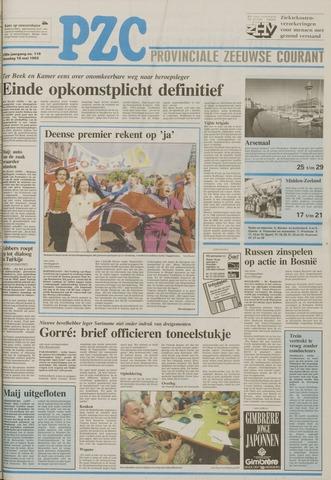 Provinciale Zeeuwse Courant 1993-05-18