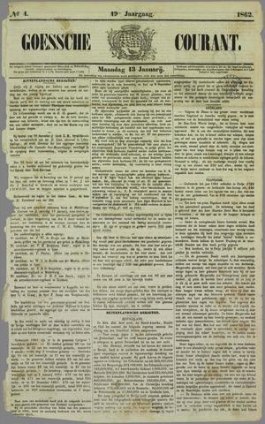 Goessche Courant 1862-01-13