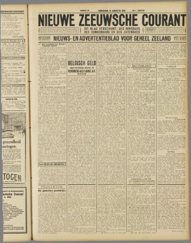 Nieuwe Zeeuwsche Courant 1930-08-14
