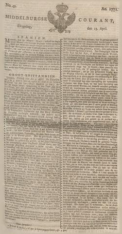 Middelburgsche Courant 1771-04-23
