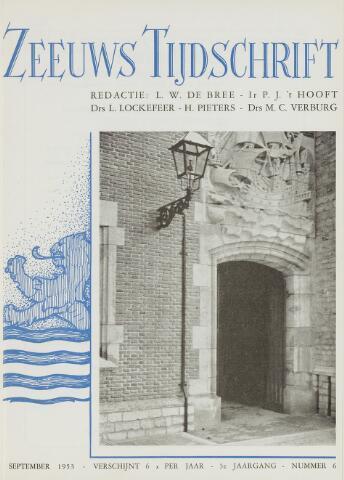 Zeeuws Tijdschrift 1953-09-01