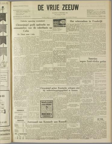 de Vrije Zeeuw 1962-10-29