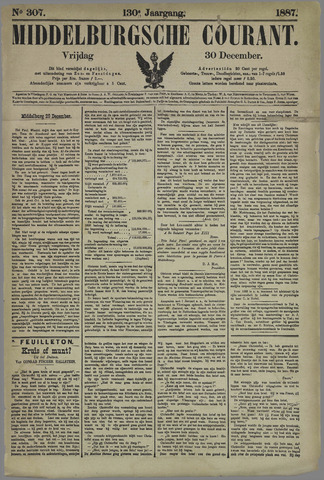 Middelburgsche Courant 1887-12-30