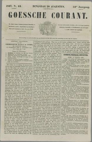 Goessche Courant 1867-08-20