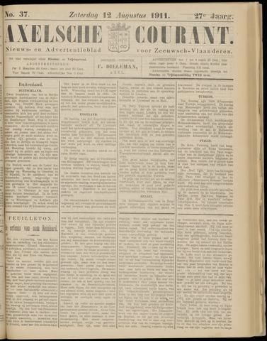 Axelsche Courant 1911-08-12