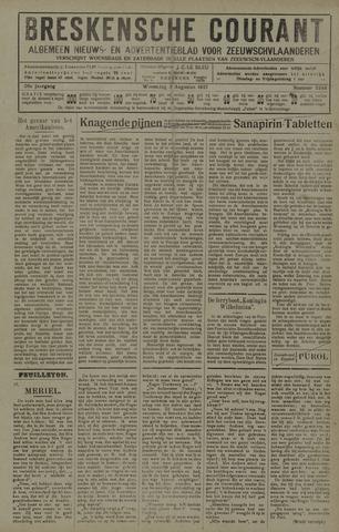 Breskensche Courant 1927-08-03