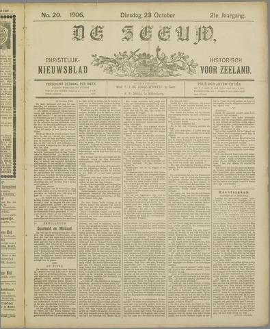 De Zeeuw. Christelijk-historisch nieuwsblad voor Zeeland 1906-10-23