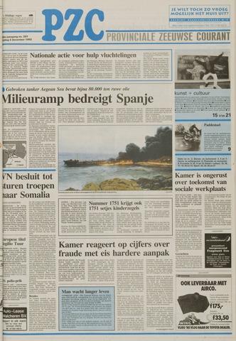 Provinciale Zeeuwse Courant 1992-12-04