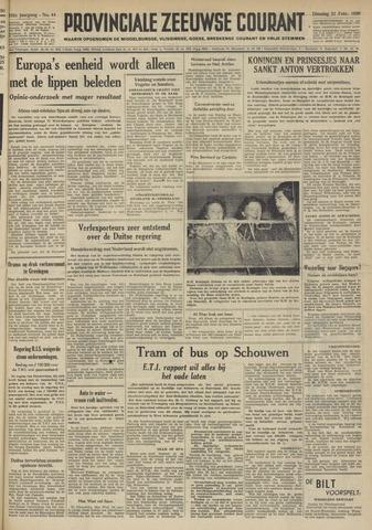 Provinciale Zeeuwse Courant 1950-02-21