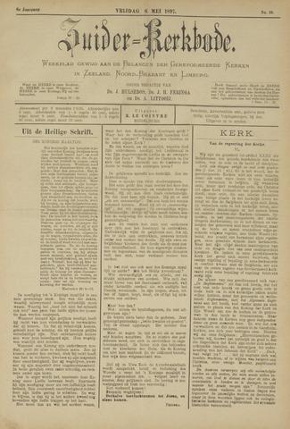 Zuider Kerkbode, Weekblad gewijd aan de belangen der gereformeerde kerken in Zeeland, Noord-Brabant en Limburg. 1897-05-06