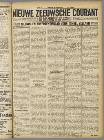 Nieuwe Zeeuwsche Courant 1923-08-16