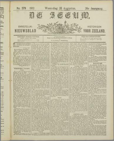 De Zeeuw. Christelijk-historisch nieuwsblad voor Zeeland 1912-08-28
