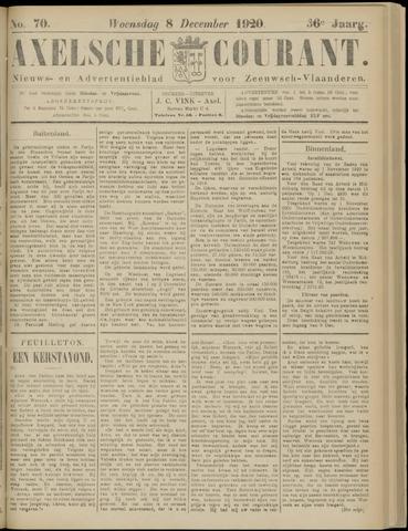Axelsche Courant 1920-12-08