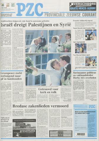 Provinciale Zeeuwse Courant 2001-05-21