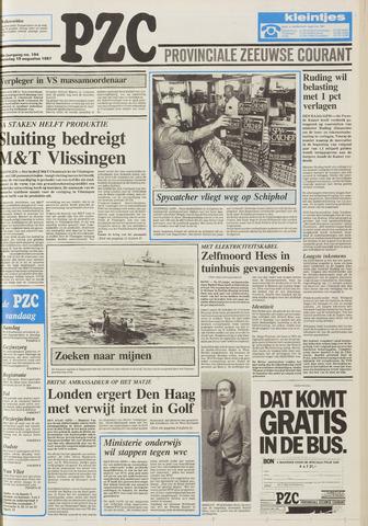 Provinciale Zeeuwse Courant 1987-08-19