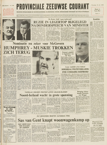 Provinciale Zeeuwse Courant 1972-07-12