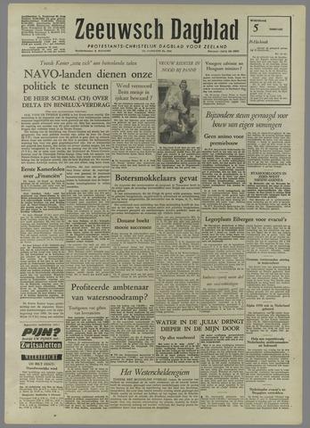 Zeeuwsch Dagblad 1958-02-05