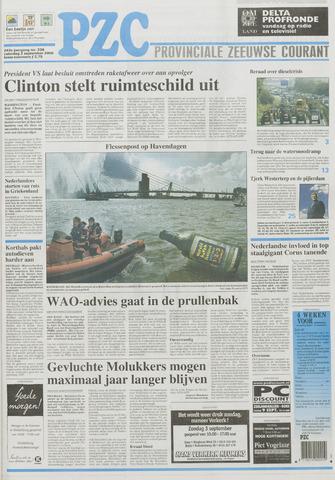 Provinciale Zeeuwse Courant 2000-09-02