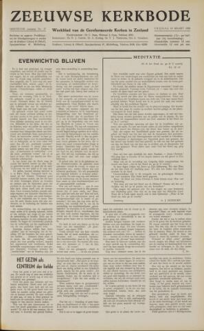 Zeeuwsche kerkbode, weekblad gewijd aan de belangen der gereformeerde kerken/ Zeeuwsch kerkblad 1958-03-14