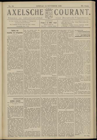 Axelsche Courant 1940-11-12
