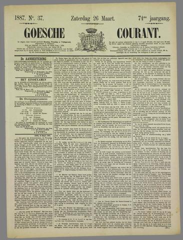 Goessche Courant 1887-03-26