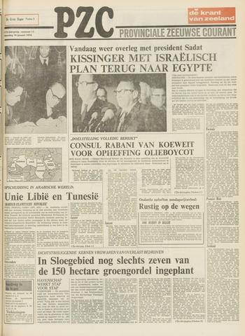Provinciale Zeeuwse Courant 1974-01-14